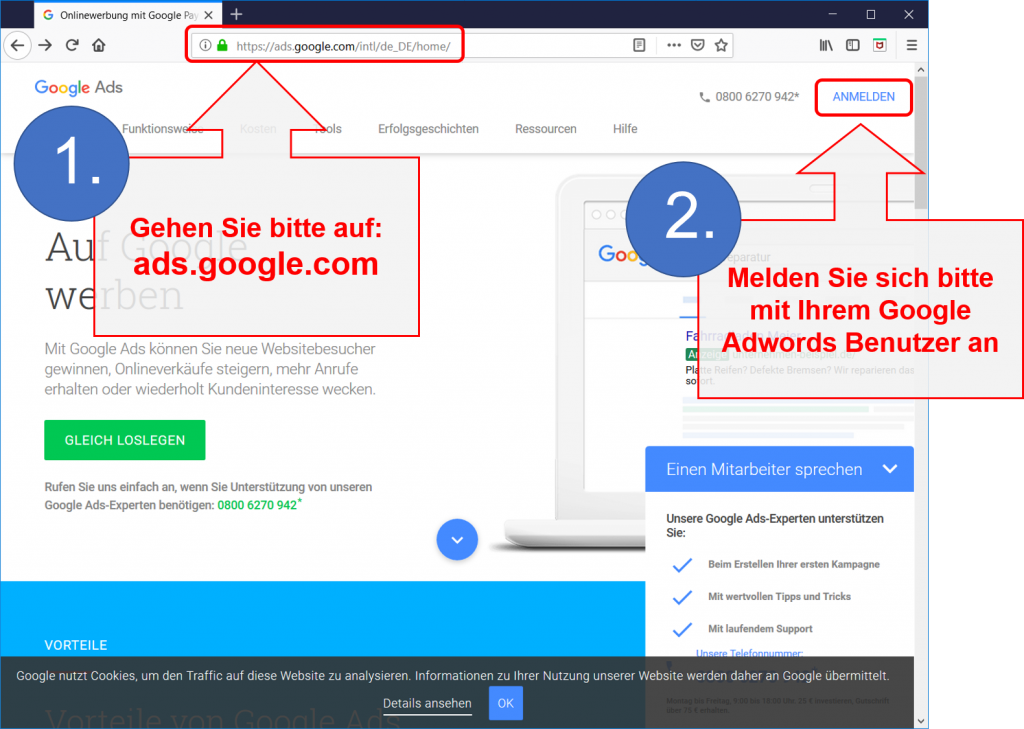 FAQ - Google Adwords 1